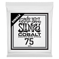 .075 Cobalt Wound Electric Bass String Single Thumb