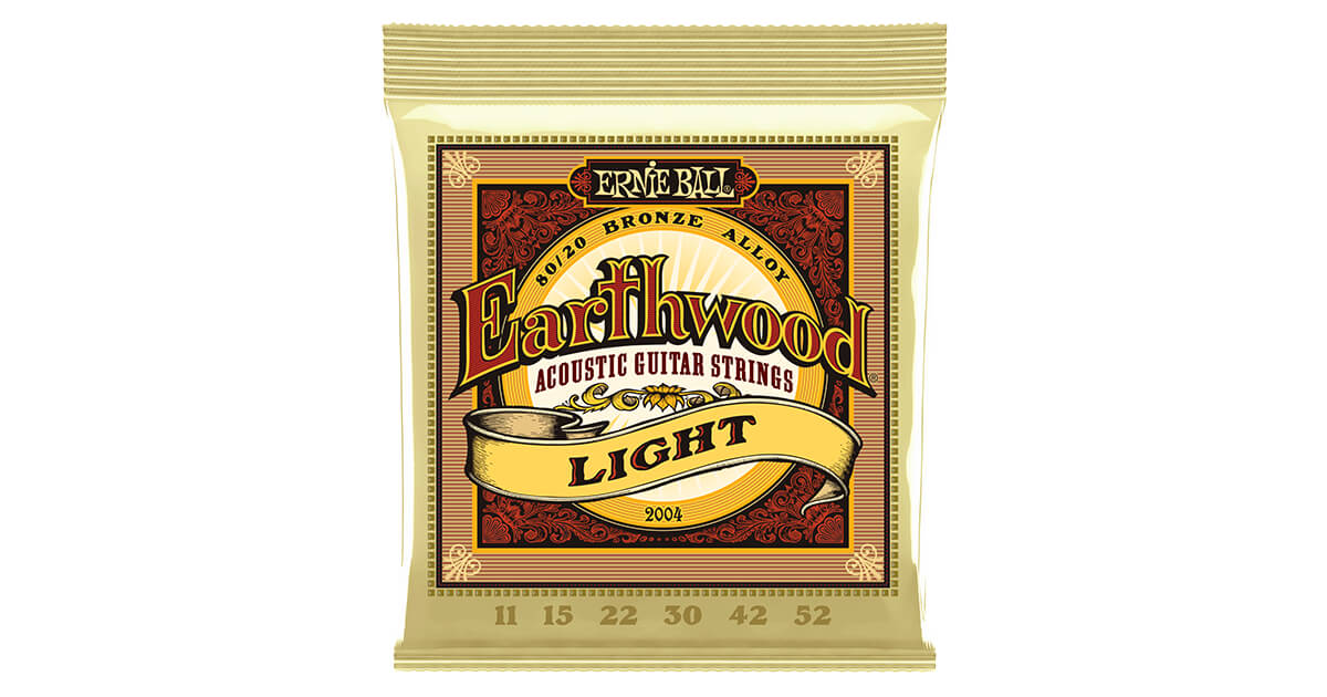 .056 .013 Ernie Ball Earthwood Silk and Steel  Regular Acoustic Set