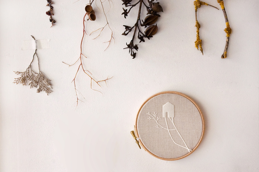 Roots Embroidery
