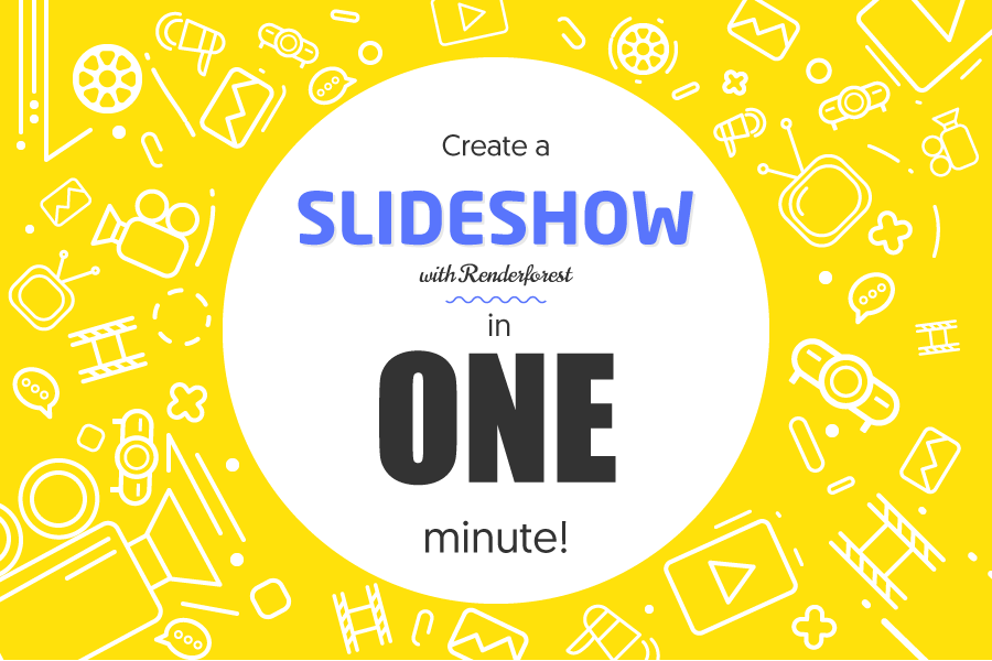 How to make a slideshow with our simple video editor