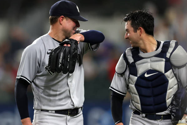 Kluber throws no-hitter for Yankees
