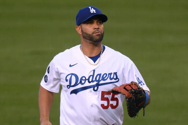 Dodgers sign Pujols for remainder of season
