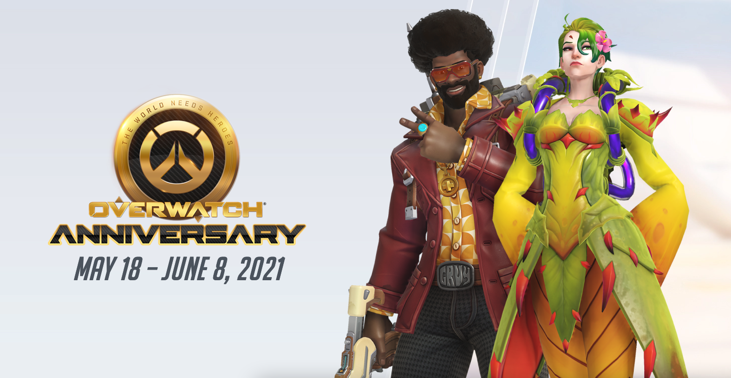 Overwatch Patch Notes - Overwatch Anniversary 2021