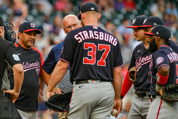 Nationals place Strasburg on 10-day IL with neck strain