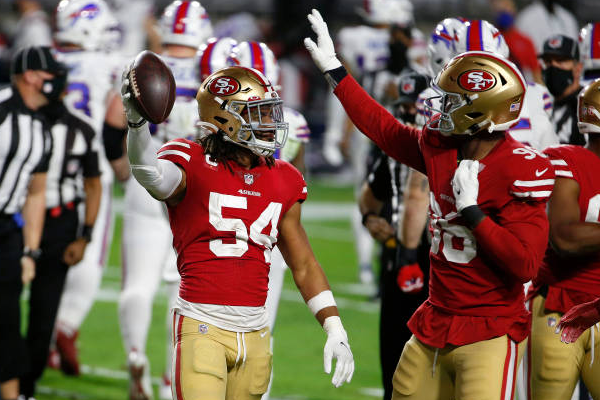 49ers sign LB Warner to 5-year, $95M extension