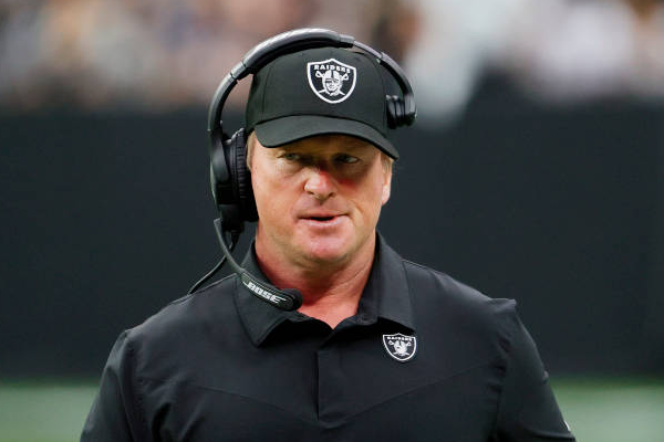 Raiders coach Gruden resigns after offensive emails