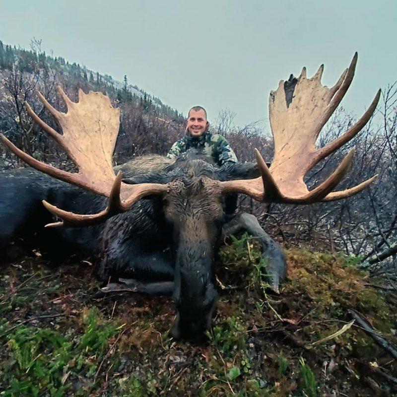George Hetlage Moose Hunt
