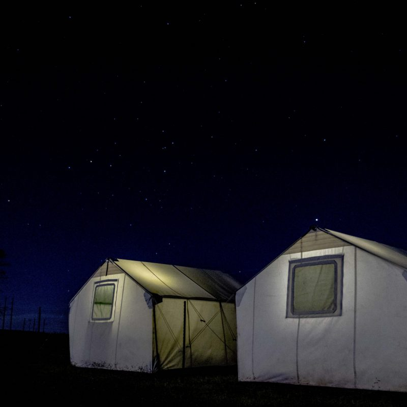 Stars over Tents New Mexico
