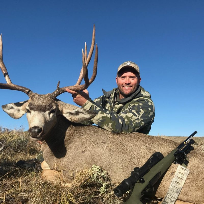 Travis Price Queen Mountain Mule Deer
