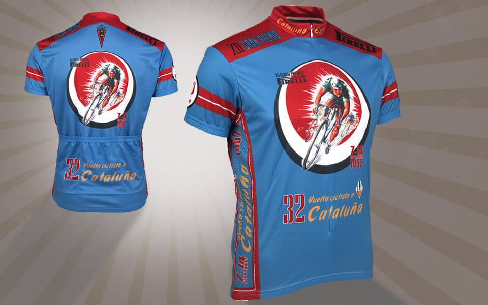 retro cycling jersey - vuelta