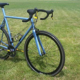 donhou steel road bike for sale