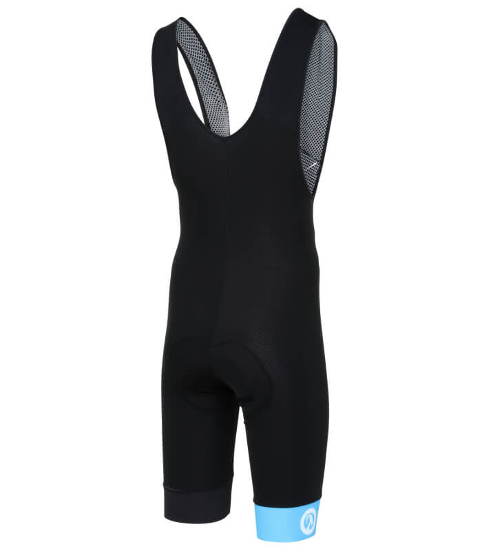 stolen goat bodyline one bibshorts blue back
