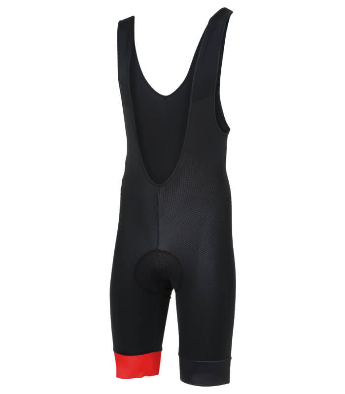 stolen goat bodyline one bibshorts red front
