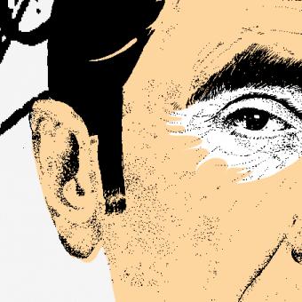 Eddy Merckx drawing