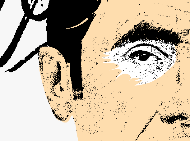 Eddy Merckx drawing