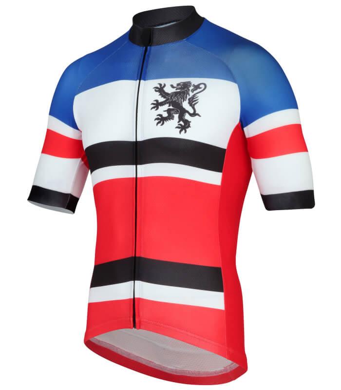 stolen goat warrior short sleeve cycling jersey side