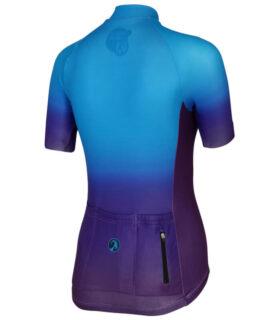 stolen goat momentum womens short sleeve cycling jersey back