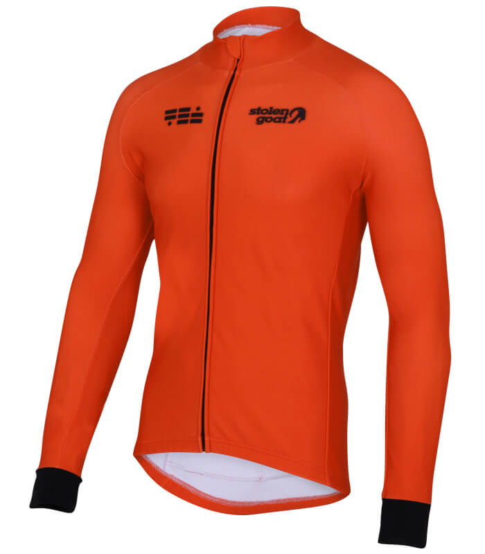orkaan everyday jersey ls orange front