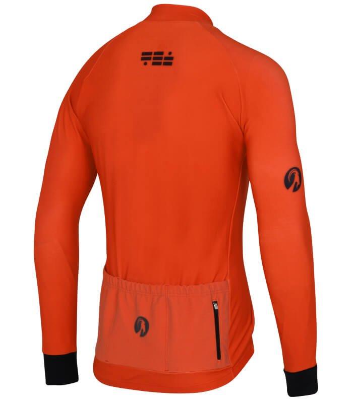 orkaan everyday jersey ls orange back