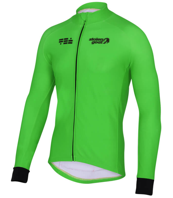 orkaan everyday jersey ls green front