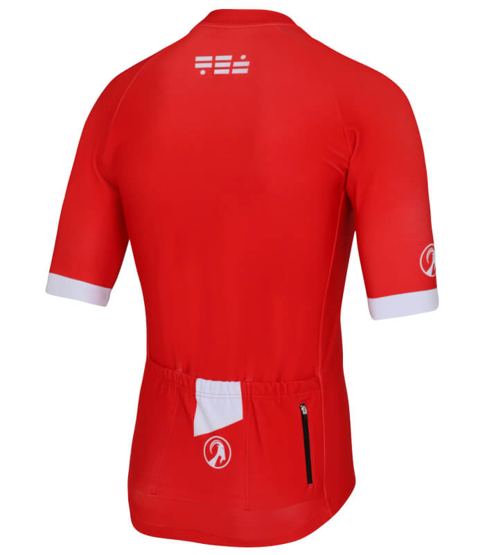 orkaan everyday jersey ss black red back