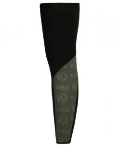 orkaan reflective waterproof leg warmers back