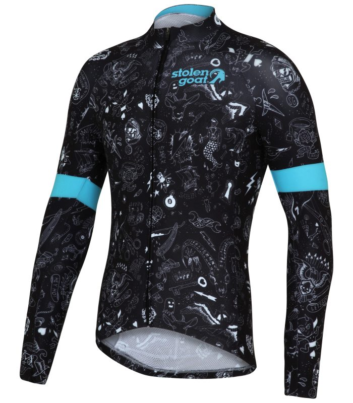 bodyline ls cycling jersey ltd edtn - best-selling cycle clothing