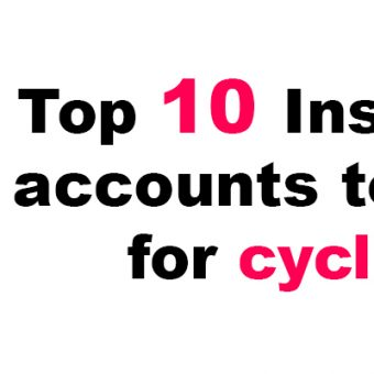 top 10 Instagram accounts to follow for cyclists.