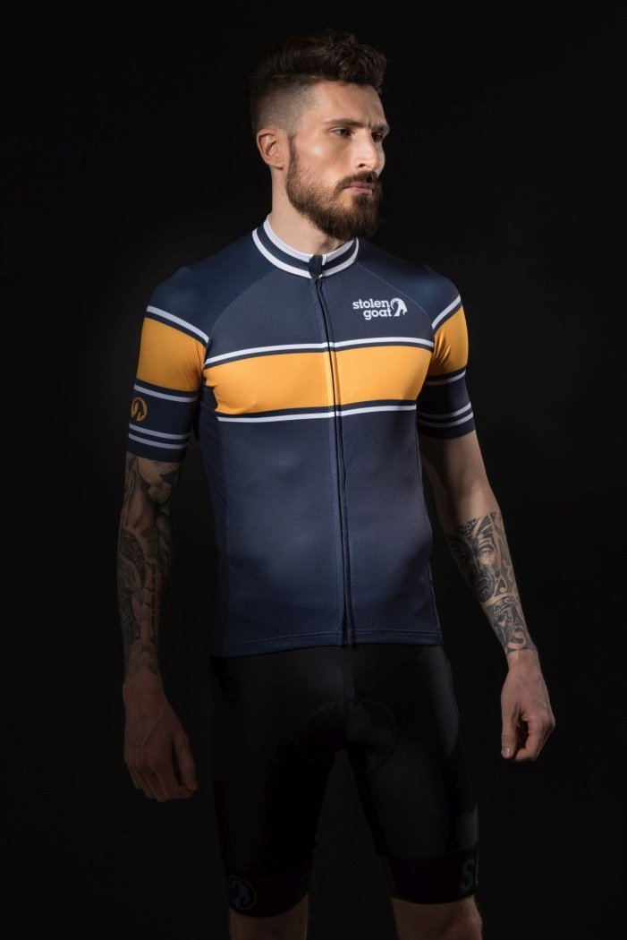 stolen goat Bodyline cycling jersey features