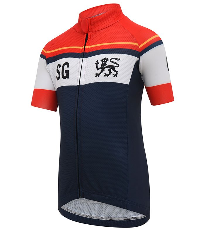 stolen goat domestique kids cycling jersey