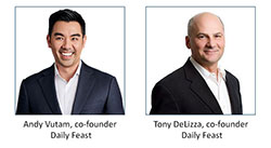 Co-founders of Daily Feast
