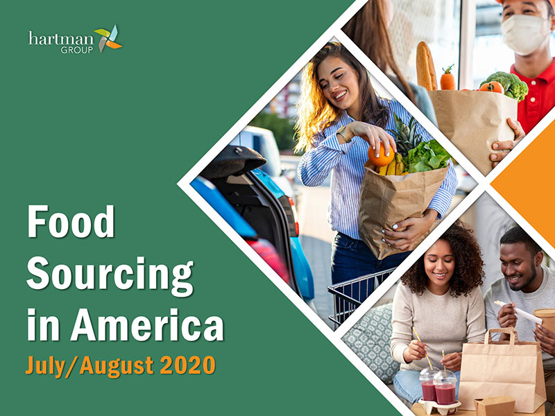 THG Food Sourcing in America 2020 cover