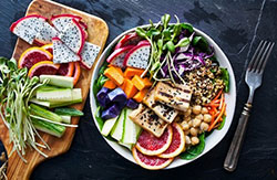 Plant-based plate