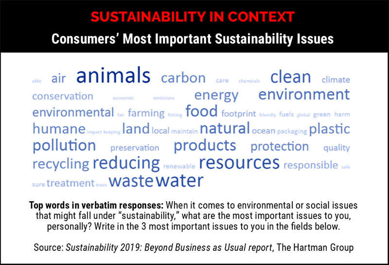Sustainability in context