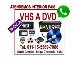 VHS Video a Digital Pen Drive o Disco Rigido.