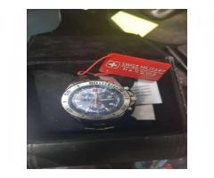 VENDO RELOJ SWISS MILITARY HANOWA MARINE OFFICER IMPECABLE EN FORMOSA