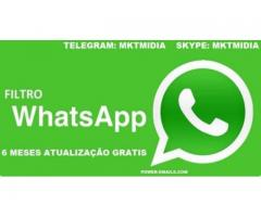 Filtro De Contatos Whatsapp Marketing