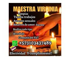 SOMETIMIENTOS.ENDULZAMIENTOS CON LA MAETSRA VIRGINIA+573103437489