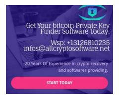 Bitcoin private key finder