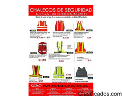 chalecos industriales