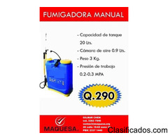 FUMIGADORA MANUAL