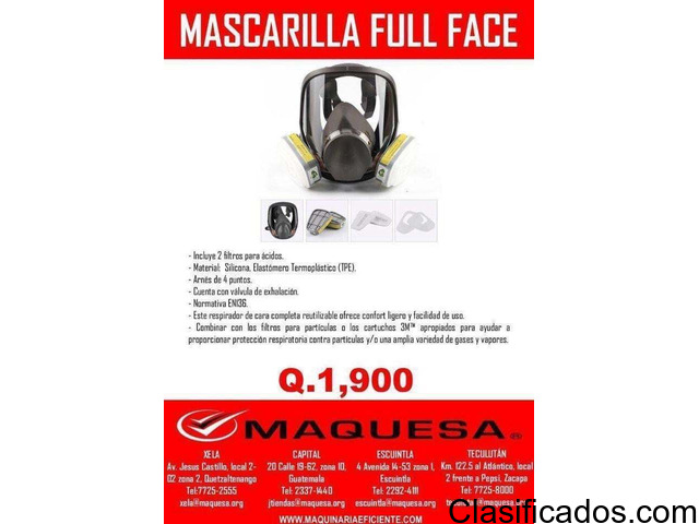 MASCARILLA FULL FACE