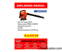 Sopladora manual