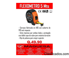 FLEXOMETRO DE 5 MTS