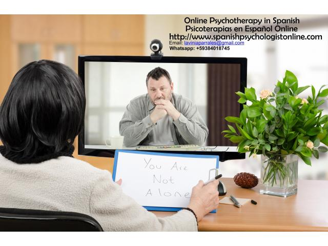 Online Therapy in Spanish - Psicoterapias en Español Online