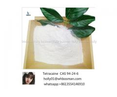 Factory Supply Free Sample Local Anesthetic Tetracaina Tetracaine Powder, Tetracaine CAS 94-24-6
