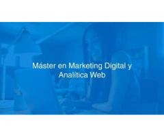 Máster gratuito en marketing digital y analítica web en California