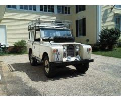 1965 Land Rover Defender Wagon Series-IIA
