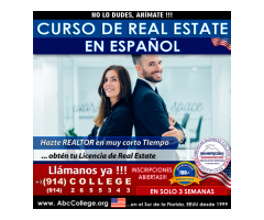 Curso de Real Estate en Español - Inscribete ya!!!