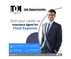 Opportunity Career- Life insurance Agent in Final Expense